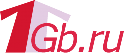 Логотип хостинговой компании 1Gb.ru