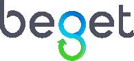 Логотип хостинговой компании Beget