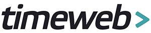 Логотип хостинговой компании Timeweb