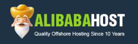 Логотип хостинговой компании Alibabahost.com