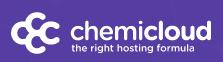Логотип хостинговой компании chemicloud.com