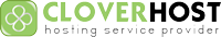 Логотип хостинговой компании Cloverhost