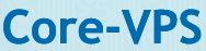 Логотип хостинговой компании core-vps.lv