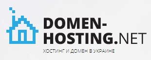 Логотип хостинговой компании Domen-Hosting.net