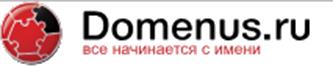 Логотип хостинговой компании Domenus.ru