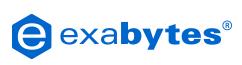 Логотип хостинговой компании exabytes.com