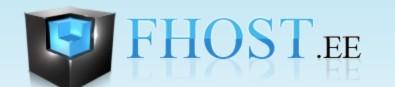 Логотип хостинговой компании Fhost