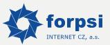 Логотип хостинговой компании forpsi.com