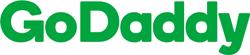 Логотип хостинговой компании GoDaddy