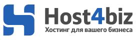 Логотип хостинговой компании Host4biz