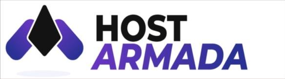Логотип хостинговой компании hostarmada.com