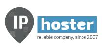 Логотип хостинговой компании IPhoster