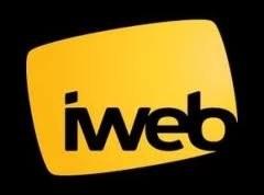 Логотип хостинговой компании Iweb.com