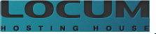 Логотип хостинговой компании Locum