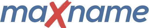 Логотип хостинговой компании maxname.ru