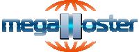 Логотип хостинговой компании MegaHoster.net