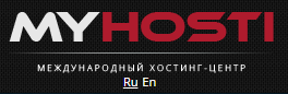 Логотип хостинговой компании Myhosti.pro
