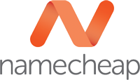 Логотип хостинговой компании Namecheap