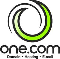 Логотип хостинговой компании One.com