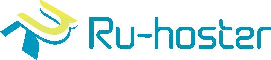 Логотип хостинговой компании Ru-hoster.com