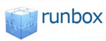 Логотип хостинговой компании Runbox.com