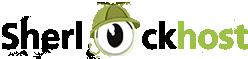 Логотип хостинговой компании SherlockHost