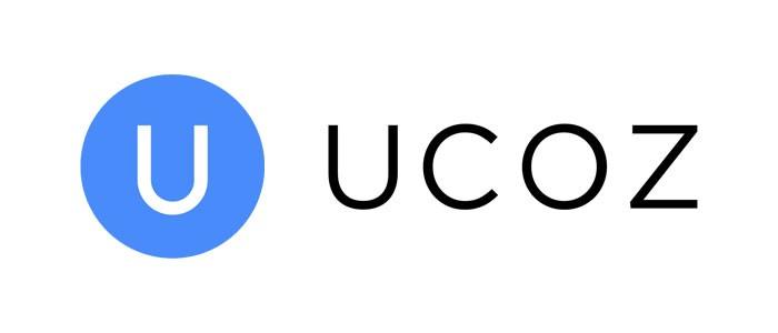 Логотип хостинговой компании UCOZ