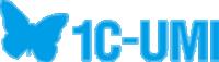 Логотип хостинговой компании 1С-UMI