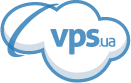 Логотип хостинговой компании VPS.ua