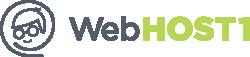 Логотип хостинговой компании WebHOST1