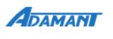 Логотип хостинговой компании Adamant.ua