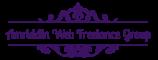 Логотип хостинговой компании Amriddin.com