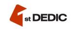 Логотип хостинговой компании 1dedic.ru (FirstDEDIC.ru)