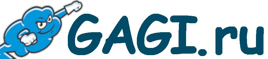 Логотип хостинговой компании Gagi.ru