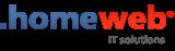 Логотип хостинговой компании Homeweb.ru