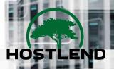 Логотип хостинговой компании Hostlend.ru