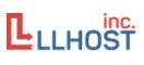 Логотип хостинговой компании LLHost-Inc.eu