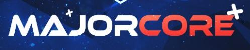 Логотип хостинговой компании MajorCore.com