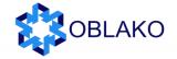 Логотип хостинговой компании Oblako.kz