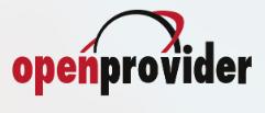 Логотип хостинговой компании Openprovider.ru