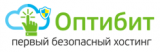 Логотип хостинговой компании Optibit.ru