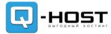 Логотип хостинговой компании Q-Host.pro