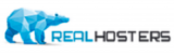 Логотип хостинговой компании RealHosters.com
