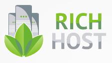 Логотип хостинговой компании RICHHost.biz