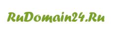 Логотип хостинговой компании RuDomain24.ru