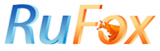 Логотип хостинговой компании Rufox.ru