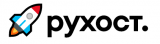 Логотип хостинговой компании RUHost.ga