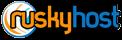 Логотип хостинговой компании RuskyHost