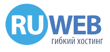 Логотип хостинговой компании RuWeb.ws