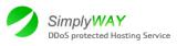 Логотип хостинговой компании Simplyway.net
